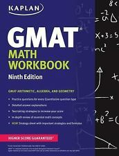 Kaplan Test Prep Ser.: Kaplan Gmat Math Workbook by Kaplan (2015, Paperback)