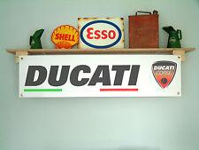 Ducati corse classique bannière pour atelier ou garage, desmosedici, moto gp
