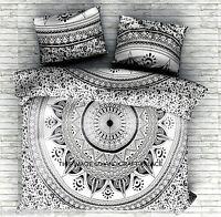 Queen Size Bed Sheet Indian Mandala Tapestry Hippie Bohemian Bedding Set Throw