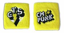 CM Punk GTS Go To Sleep Wristbands Set of 2