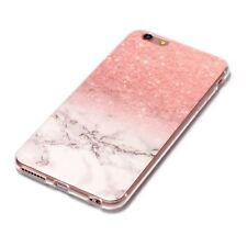 para iPhone 7&8 tapa blanda piel Mármol Sintético Transparente Funda teléfono