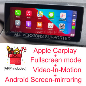 BMW i3 EVO Carplay + Fullscreen + VIM + Android Screen-mirroring ALL VERSIONS