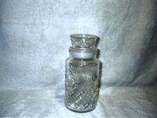 Vintage 1983 Planters Peanuts Diamond Pattern Jar Apothecary Mr. Peanut Canister