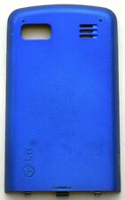 GENUINE LG Xenon GR500 BATTERY COVER Door Metallic BLUE phone back panel
