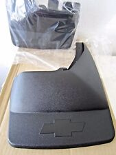 Genuine GM Rear Splash / Mud Guards with Flares Chevy Logo Part # 17802162