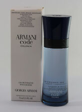 Armani Code Colonia  Tster  for Men Edt 2.5 OZ 75 ML Spray New In Tster Box