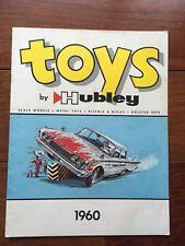 VTG TOYS BY HUBLEY 1960 CATALOG BOOK BROCHURE
