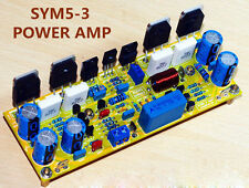 assembled mono classic symasym 5-3 discrete power amplifier board 200w amp