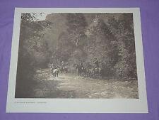 Edward Curtis Native American Indian VTG Photo Print MOUNTAIN FASTNESS APSAROKE