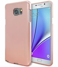 Galaxy Note5 Note4 Note3 Case GOOSPERY Ring2 i Clear Jelly Metal Metallic Cover