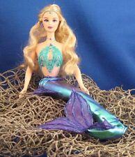 Iridescent Violet & Teal Pearl Mermaid~OOAK Barbie Doll Repaint