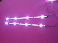 SANYO TV FW43D25F B STRIP LED LIGHT 2 PCS  UDULED0SM061 REV.A LM41-00267B