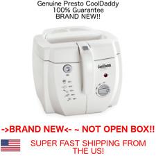 GENUINE Presto 05443 CoolDaddy Electric Deep Fryer in WHITE Fry Daddy