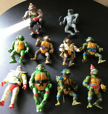 TMNT Teenage Mutant Ninja Turtles Lot Of 10 1990-2000's VINTAGE