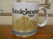 STARBUCKS Rio De Janiero  BRAZIL  BRASIL  COFFEE MUG /CUP RARE