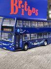 EXTREMELY RARE!!!!    britbus Es17B,Scania Omnidekka,BLUE STAR Model Bus,