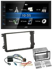 JVC USB 2DIN Bluetooth MP3 AUX Autoradio für VW Caddy Golf 5 6 Jetta ab 2003