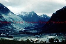 1950s Mystery mountain town 35mm Slide c695