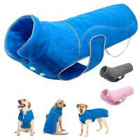 Hundemantel Wintermantel Hundebekleidung Hundejacke Fleece Mantel 3 Farben S-5XL