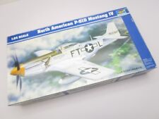 Trumpeter North American P-51D Mustang Ⅳ 1/24 Model Airplane Kit