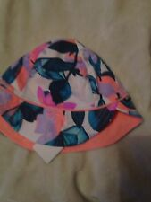 Bonds Baby Hat Peach Print One Size Fits Most Bnwt Free Post (e6)