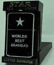 ENGRAVED PETROL LIGHTER GRANDAD/BESTMAN/USHER/BROTHER/DAD GIFT UK