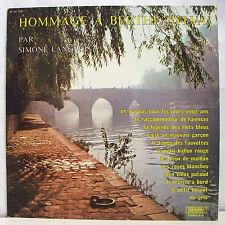 """33T SIMONE LANGLOIS Disque Vinyle LP 12"""" HOMMAGE A BERTHE SYLVA - MUSIDISC 1257"""