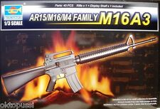 Trumpeter 01911 1:3 ar15/m16/m4 Family m16a3-NUOVO