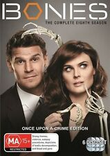Bones Season 8 (6 x DVD), New and Region 4