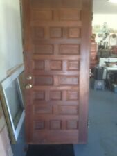 Antique entry door