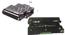 1× DR3400 DRUM Rebuilt + 2 XXl kompatibel Toner HL-L 5000 D / HL-L 5100 DN serie