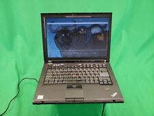 Libreboot Lenovo Thinkpad T400 Core 2 Duo @ 2.26GHz 128GB SSD 4GB RAM Trisquel