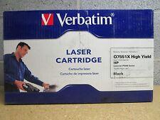 Lot Of 2 Q7551X  51X  HIGH YIELD Cartridge For HP LaserJet P3005 Series 2PK