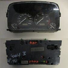 Quadro strumenti 87001262 Volkswagen Golf Mk3 1991-1997 usato (13857 20B-2-F-3)