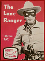 THE LONE RANGER - Card #40 - Dart 1997 - TELEVISION SERIES / CLAYTON MOORE