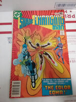 "DC SHADE THE CHANGING MAN ""THE COLOR COMA"" VINTAGE COMIC BOOK"