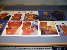 VINTAGE...(10 PC) SEAGRAMS CROWN ROYAL.. 1-PAGE COLOR SALES ADS...RARE! (782U)