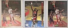 Hakeem Olajuwon 1993-94 UD Special Edition Behind the Glass + 2-UD3 Card Lot