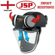 JSP Powercap Active IP Powered Respirator Impact Visor Bump Head Protection