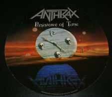 Anthrax Persistence Of Time Vintage 1990 Record Store Advertisement Circular Htf