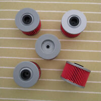 5 Oil Filter For HONDA XR250R XR250L XR400 XR600R XR650R XR650L HF112