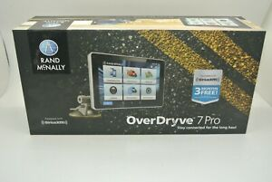 Rand Mcnally Overdryve 7 Pro GPS Truck Device With Built-in Dash Cam W/ CASE