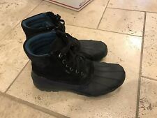 Sperry Top-Sider Black Avenue Duck Boot Chukka Boot Men's 8.5 M