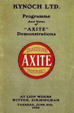 Kynoch 1905 Axtite Powder Catalog
