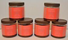 6 Bath & Body Works Essential Oils Lavender Sandalwood Olive Oil Body Scrub 8oz