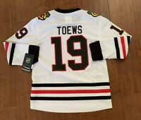NHL Fanatics Chicago Blackhawks Toews Hockey Jersey Youth S/M