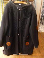 manteau noir et motifs 38/40