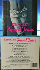 John Cody - Ripped Jeans (CD, 1989, Boom Powerplay Records, US INDIE) RARE