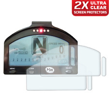 2 x HM Dash Race / Track Day Dashboard / Speedo Screen Protector: Ultra-Clear