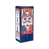 Bicycle Standard Playing Cards - 12 pks.  GREAT DEAL & SERVICE!!